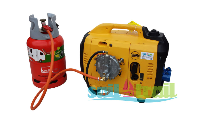 Kipor Ig 2600 Lpg Suitcase Inverter Generator On