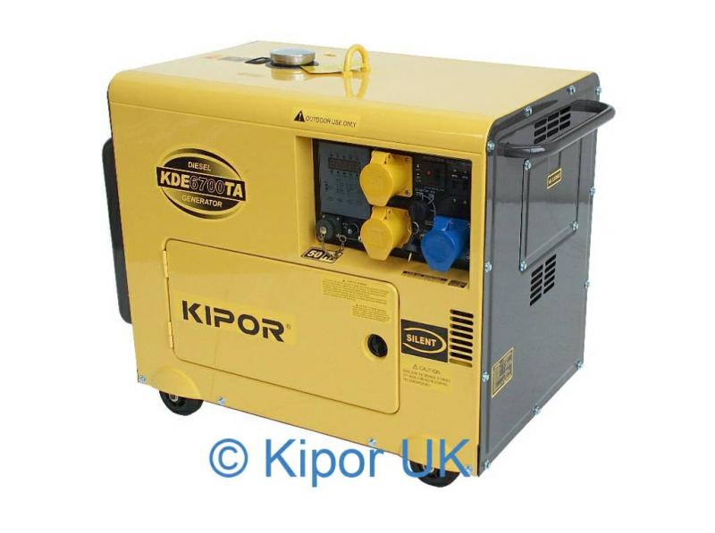 Kipor Kde 6700ta Generator Sail And Trail