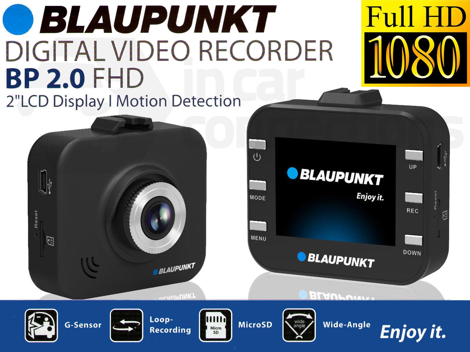 Blaupunkt Bp 2 0 Hd 1080p Dash Camera Sail And Trail