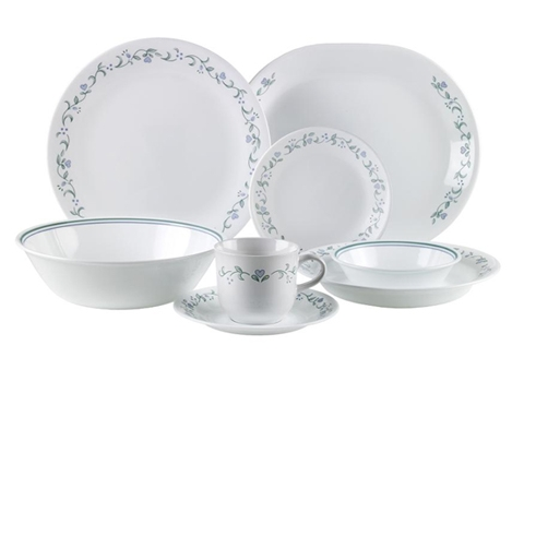 Corelle Country Cottage 76pc Dinner Set Sail And Trail