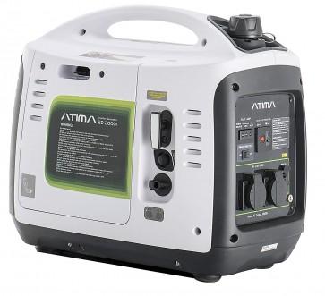 Atima SD2000i Petrol 2Kw Suitcase Inverter Generator White PSPGAT2000-30