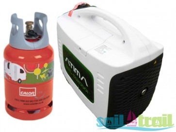 Atima SD2000i LPG Gas 2Kw Suitcase Inverter Generator On Bottle Kit PSPGAT2000LPGOB-31