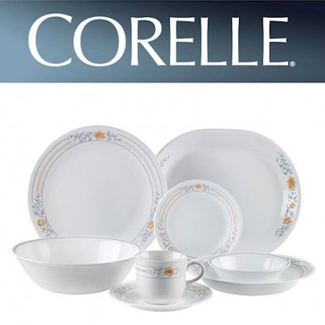 Corelle Apricot Grove 76 piece Floral Design Dinner Set CORELLE-APRICOT-GROVE-76-DINNER-SET-30