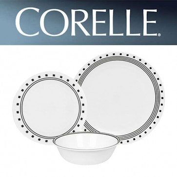 Corelle City Block 18 Piece Dinner Set COR-CITY-BLOCK-18PC-31