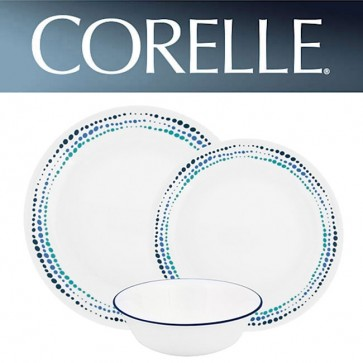 Corelle Ocean Blues 12 Piece Dinner Set COR-OCEAN-BLUES-12PC-31