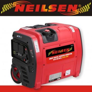 Neilsen SE2000i 2.1Kw Petrol Suitcase Inverter Generator with Wheels 2100w Smart App Monitoring NEILSEN-SE2000I-30
