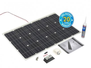 100w PV Logic Flexi Solar Panel Roof Top Kit 100W-PV-LOGIC-KIT-30