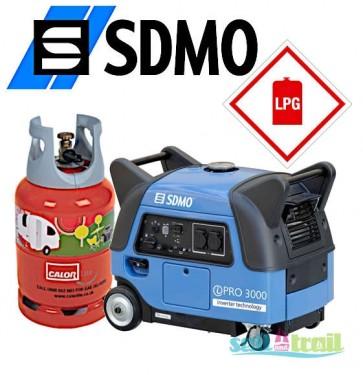 SDMO Inverter iPRO 3000 Silent Generator LPG Version SDMO-PRO-3000-LPG-31