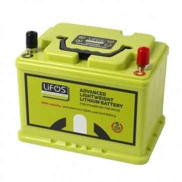 LiFOS 68AH Camping and Leisure and Commercial Lithium Iron Phosphate Smart Battery LIFOS-68AH-30