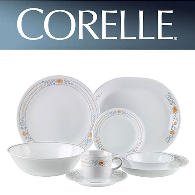 Corelle Apricot Grove Rimmed Soup Plate  dia 21.5cm x h 3cm