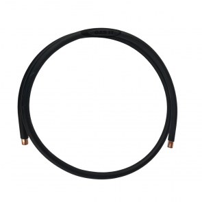 3m Black Plastic Coated 8mm Copper Pipe Approved for Regulator, Autogas Installs GI-ACCS-034-3M-20