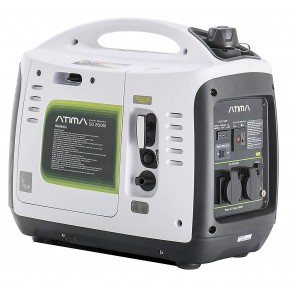 Atima SD2000i Petrol 2Kw Suitcase Inverter Generator White PSPGAT2000-20