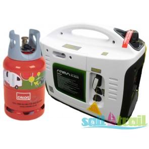 Atima IG1000 (SD1000) LPG Suitcase Inverter Generator On Generator Kit PSPGAT1000LPGOG-20