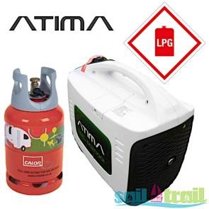 Atima SD2000i LPG Gas 2Kw Suitcase Inverter Generator ATIMA-IG2000-LPG-KIT-20
