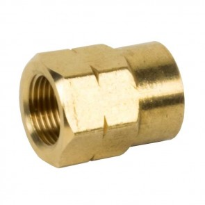 21.8LH Gas Outlet (Butane) to UK POL ( Propane) Brass Adaptor PSGILPGButaneToPOL1-20