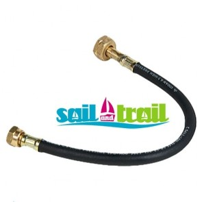 1.5mtr 21.8LH to w20 Pigtail For Refillable Gas Bottles and Cylinders to Regulator Connector 1-5-BUT-PT-20
