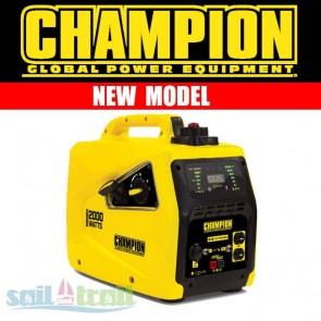 Champion 82001I-E 2Kw 2000 Watt Petrol Inverter Suitcase Generator CHAMPION-82001I-E-20