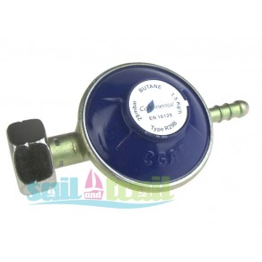 Butane Regulator Suitable for Use with Gas It and Gaslow Refillable Gas Bottles CON-BUT-29MB-REG-20