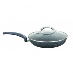 Cooklite RFF30 Petra Stone 30cm Frying Pan With Glass Lid COOKLITE-FRY-PAN-30CM-20