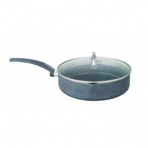 Cooklites Petra Stone 26cm Saute Pan With Glass Lid RFD026 COOKLITE-SAUTE-PAN-26CM-20