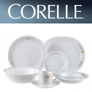 Corelle Apricot Grove 76 piece Floral Design Dinner Set CORELLE-APRICOT-GROVE-76-DINNER-SET-20