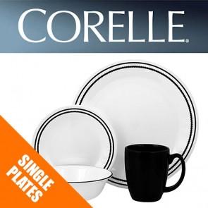 Corelle Brilliant Black Beads Single: Plates, Bowls, Dishes, Side Plates COR-BRILLIANT-BLACK-BEADS-20