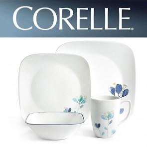 Corelle Dalena 16 Piece Square Dinner Set COR-DALENA-16PC-20