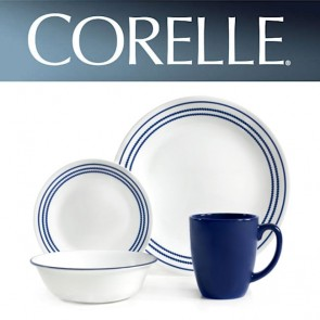Corelle Jett Blue 16pc Dinner Set COR-JETT-BLUE-16PC-20
