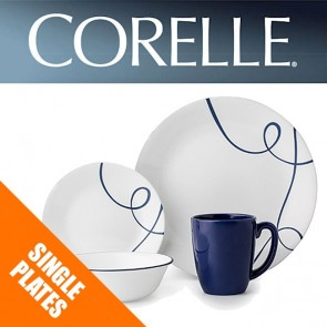 Corelle Lia Single: Plates, Bowls, Dishes, Side Plates, Mugs COR-LIA-20