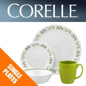 Corelle Neo Leaf Dinnerware Plates, Bowls, Dishes Side Plates COR-NEO-LEAF-20