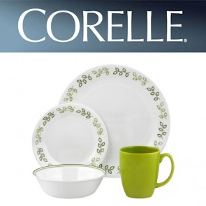 Corelle Neo Leaf 16pc Dinner Set COR-NEO-LEAF-16PC-20