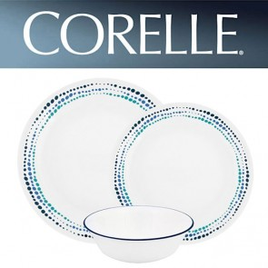Corelle Ocean Blues 12 Piece Dinner Set COR-OCEAN-BLUES-12PC-20