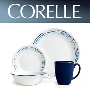 Corelle Ocean Blues 16 Piece Dinner Set COR-OCEAN-BLUES-16PC-20
