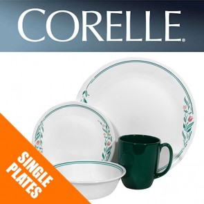 Corelle Rosemarie Dinnerware Single Plate Bowl Dish Replacements Spares COR-ROSEMARIE-1-20