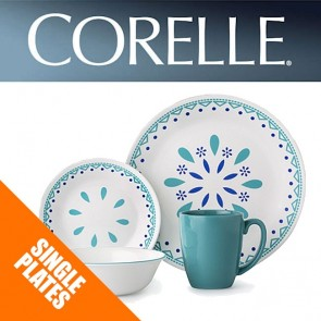 Corelle Santorini Sky Single: Plates, Bowls, Dishes, Side Plates COR-SANTORINI-SKY-20