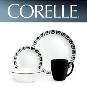 Corelle Black Night 16pc Dinner Set COR-BLACK-NIGHT-16PC-20