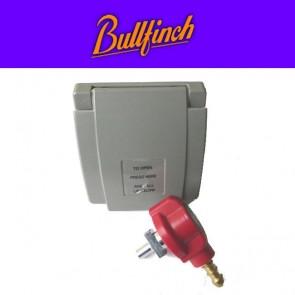 Bullfinch BBQ Gas Point Outdoor Utility Gas Connector in GREY ACBullfinchBBQPointFullGrey-20