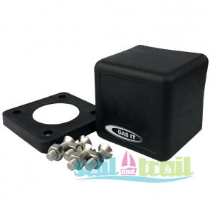 Gas IT Square Plastic Dust Cap Cover for LPG In-Locker Fill Point GI-D-CAP-SCREWS-20