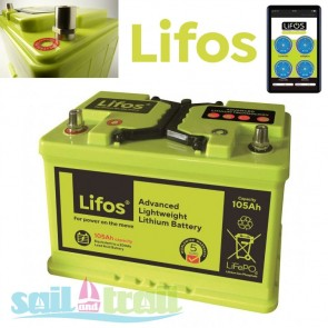 LiFOS 105AH Camping and Leisure and Commercial Lithium Iron Phosphate Smart Battery LIFOS-105AH-20