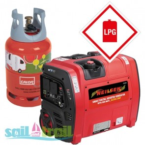 LPG/Petrol Neilsen SE2000iE Electric Start 2.1Kw Petrol Suitcase Inverter Generator with Wheels 2100w NEILSEN-SE2000IE-LPG-20