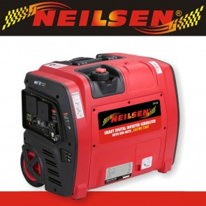 Neilsen SE2000iE Electric Start 2.1Kw Petrol Suitcase Inverter Generator with Wheels 2100w Smart App Monitoring NEILSEN-SE2000IE-20