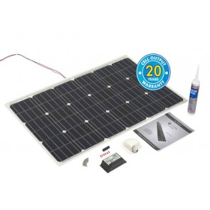 100w PV Logic Flexi Solar Panel Roof Top Kit 100W-PV-LOGIC-KIT-20