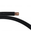 1m Black Plastic Coated 8mm Copper Pipe Approved for Regulator,  Autogas Installs