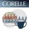 Corelle Zamba 16 Piece Dinner Set
