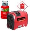 LPG/Petrol Neilsen SE2000i 2.1Kw Petrol Suitcase Inverter Generator with Wheels 2100w