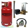 Gas It 11kg Refillable LPG Bottle Cylinder + In-Locker Filler Point + Pigtail