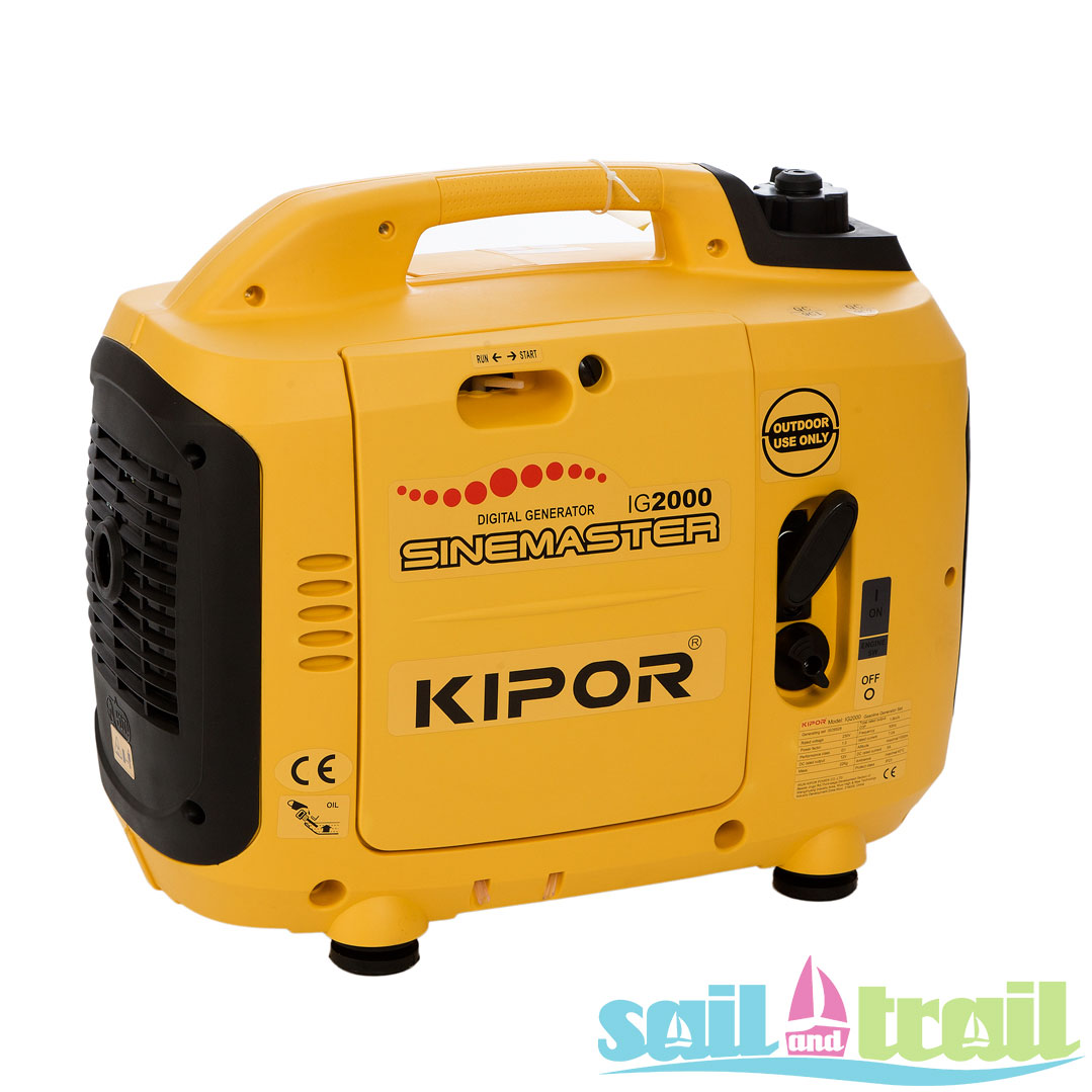 Kipor Ig 2000 Suitcase Inverter Generator Sail And Trail