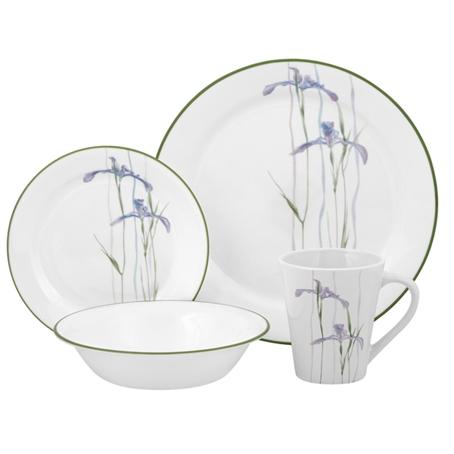 Corelle Dining Set Uk amazon com corelle livingware winter frost