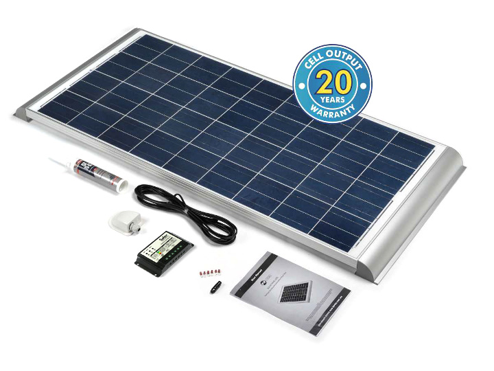 Pv Logic 120 Watt Fixed Premium Solar Panel Full Kit