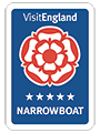 Visit England Narrowboat